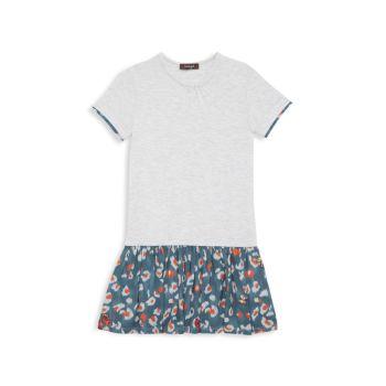 Маленькая девочка & amp; Платье Тиффани для девочек Imoga