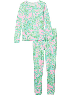 Sammy Pajama Set (для малышей / маленьких детей / больших детей) Lilly Pulitzer Kids