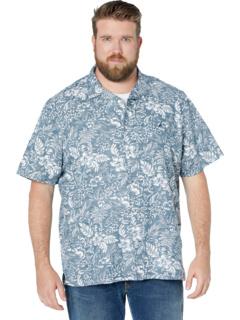Big & Tall Classic Fit Tropical Print Linen Shirt Nautica Big & Tall