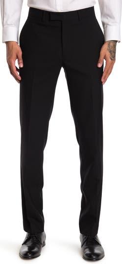 Черный костюм Solid Performance с отдельными штанами - внутренний шов 30–34 дюйма Kenneth Cole New York