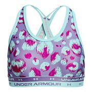 Girls -16 Under Armour Crossback Printed Sports Bra Under Armour