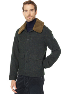 Рабочая куртка из смесовой шерсти с отделкой из шерпы Scotch & Soda