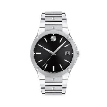 Часы с браслетом из нержавеющей стали SE Movado