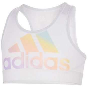Girls 7-16 adidas Iridescent Logo Sports Bra Adidas