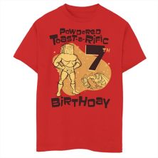 Футболка для мальчиков 8-20 Nickelodeon Ren & Stimpy Powdered Toast-A-Rific с графическим рисунком в честь 7-го дня рождения Nickelodeon