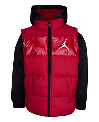 Куртка Little Boys Colorblock 2Fer Jordan
