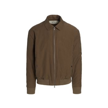 Куртка на молнии из органического хлопка Z Zegna