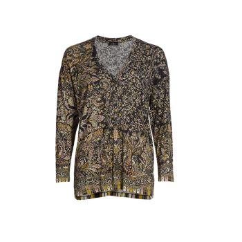 Блуза Palm Springs с узором пейсли Etro