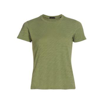 Хлопковая футболка с круглым вырезом для школьников ATM Anthony Thomas Melillo