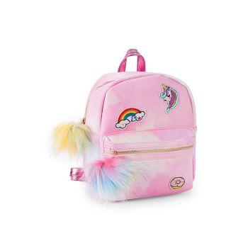 Детский рюкзак из искусственного меха и искусственной кожи с нашивками Under One Sky