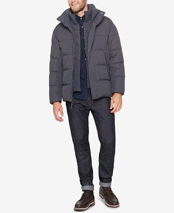 Мужская куртка-пуховик с флисовым нагрудником Marc New York by Andrew Marc