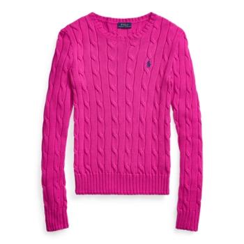 Хлопковый свитер кабельной вязки Ralph Lauren
