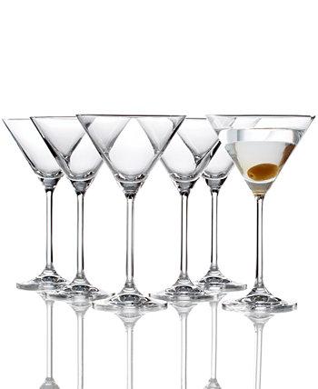 Набор из 6 бокалов для мартини Tuscany Martini Lenox