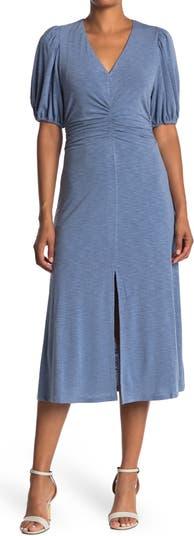 Трикотажное платье со сборками спереди 19 Cooper