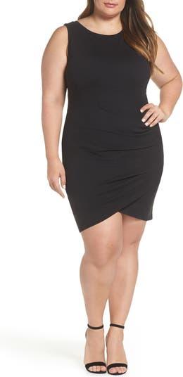 Платье-футляр со сборками Leith