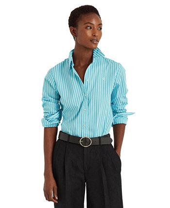 Striped Cotton Buttoned Top Ralph Lauren