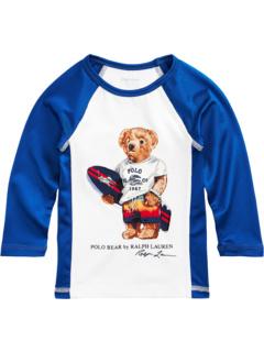 Рашгард Surfer Bear Stretch (Младенец) Ralph Lauren