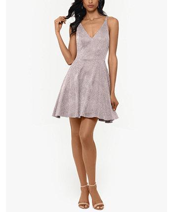 Платье с блестками и пышной юбкой XSCAPE