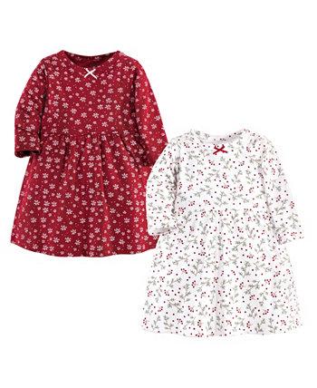 Платья Winterland для маленьких девочек, упаковка из 2 шт. Hudson Baby