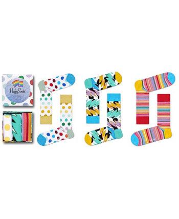 Подарочная коробка для женщин, упаковка из 3 шт. Happy Socks