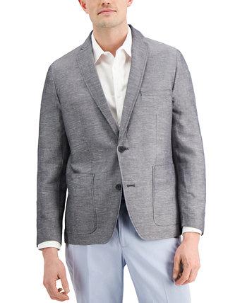 Мужской пиджак из шамбре Rocco Slim-Fit, созданный для Macy's INC International Concepts