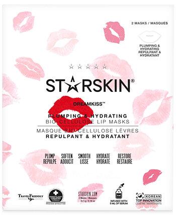 Dreamkiss Подтягивающие и Увлажняющие Маски для Биоцеллюлозы для Губ STARSKIN