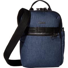 Вертикальная противоугонная сумка через плечо Metrosafe X Pacsafe