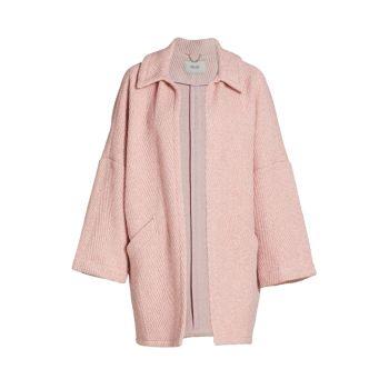 Пальто из смесовой шерсти Husk Chevron Rachel Comey