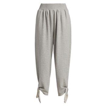 Махровые брюки с завязками Liana Cinq a Sept