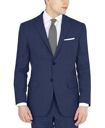 Мужской стретч-костюм Blue Tic Modern-Fit Performance с раздельными жакетами DKNY