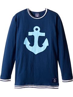 Якорная легкая футболка (младенец / малыш / маленькие дети / большие дети) Toobydoo