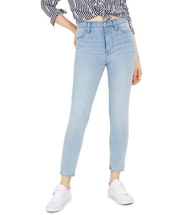 Обтягивающие щиколотки с высокой посадкой Tommy Jeans