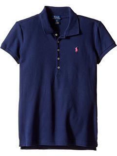 Рубашка поло с короткими рукавами (Маленькие дети / Большие дети) Ralph Lauren