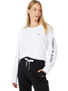 Пуловер с логотипом на рукаве Tommy Jeans