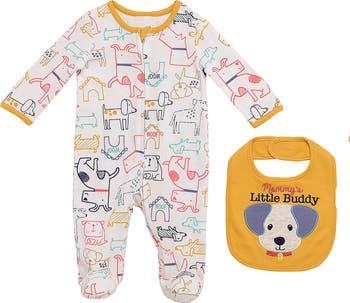Комбинезон и нагрудник Mommy's Little Buddy Baby Starters