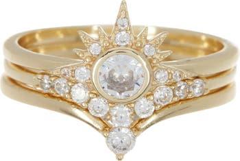 Наборные кольца Alexis CZ - размер 5 Melinda Maria