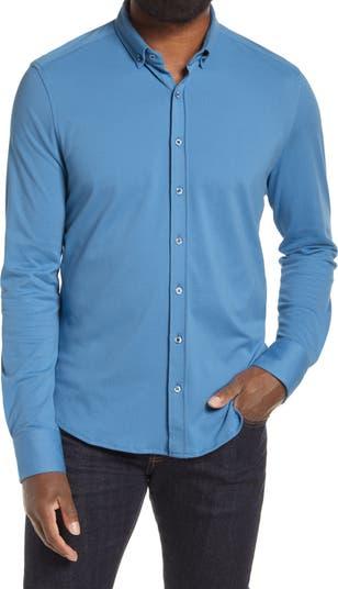 Трикотажная рубашка на пуговицах из пике Stone Rose