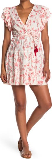Cap Sleeve Layered Dress Angie