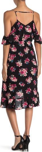Floral Cold Shoulder Dress 19 Cooper