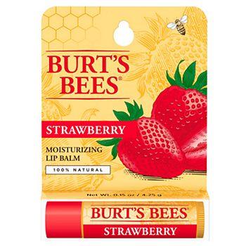 Бальзам для губ с клубникой Burt's Bees BURT'S BEES