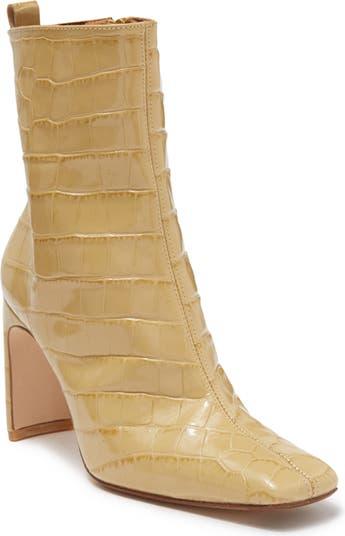 Ботинки Marcelle с тиснением под крокодиловую кожу Miista