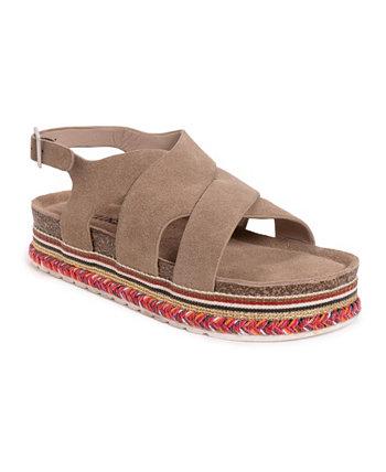 Женские пляжные сандалии на платформе бинго MUK LUKS