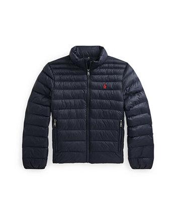 Водоотталкивающая упаковываемая куртка Big Boys Ralph Lauren