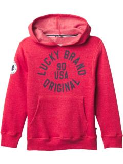 Толстовка с капюшоном 90 USA с рисунком (Big Kids) Lucky Brand Kids