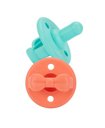 Набор пустышек Sweetie Soother Bow, 2 предмета Itzy Ritzy