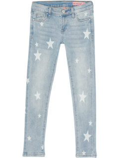 Star Printed Five-Pocket Jeans in Blue (Big Kids) Blank NYC Kids