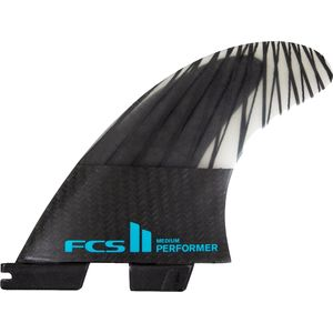 FCS Performer PC Carbon Thruster Surfboard Fins FCS