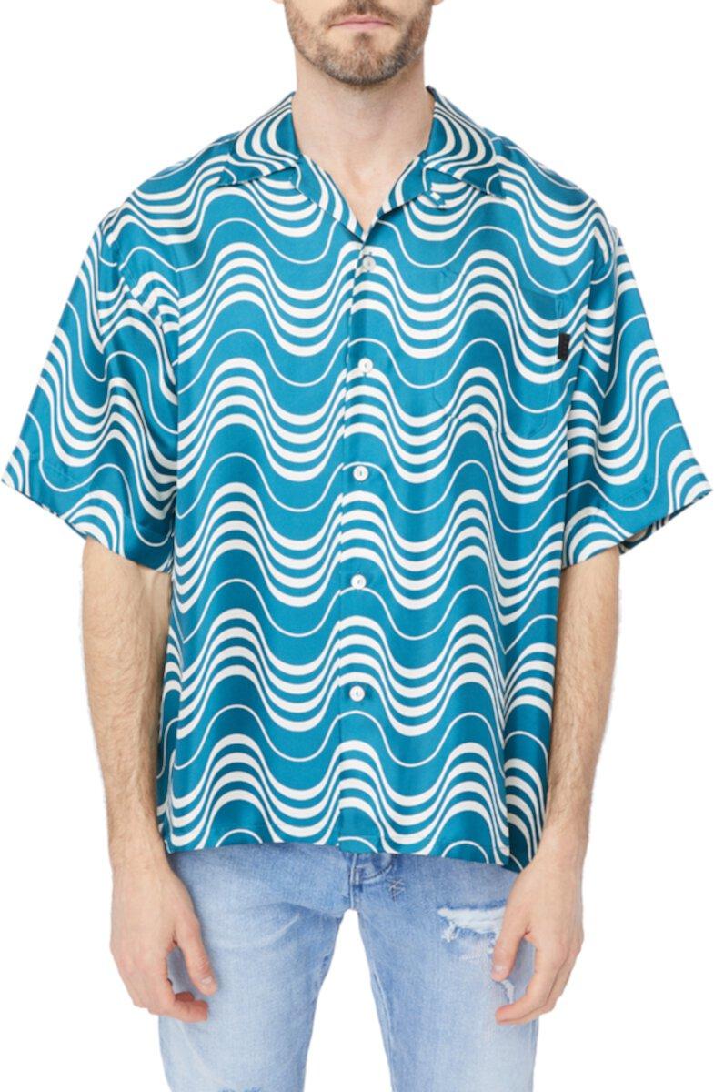 Рубашка на пуговицах из твила Psycho Wave MARNI