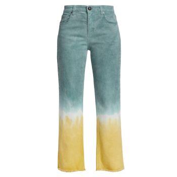 Прямые джинсы Dip Dye Etro