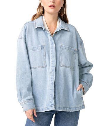 Джинсовая куртка-рубашка Unpublished